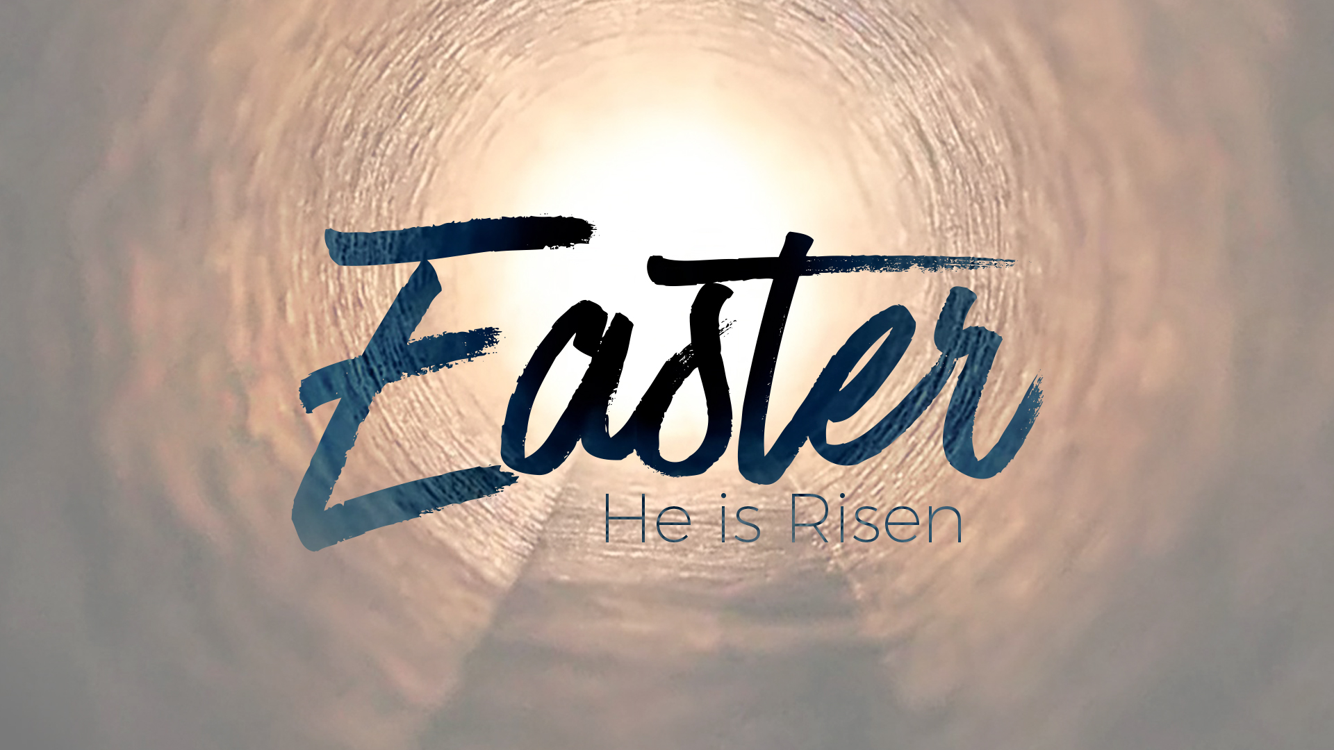Easter Service – The stone is rolled away!